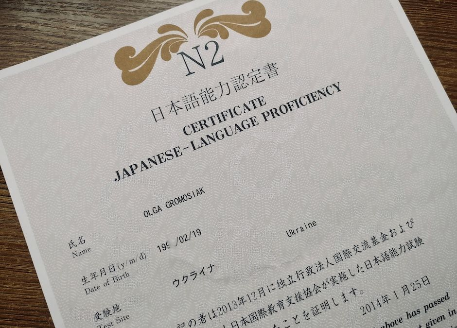 Як підготуватися до вищих рівнів JLPT іспиту з японської мови